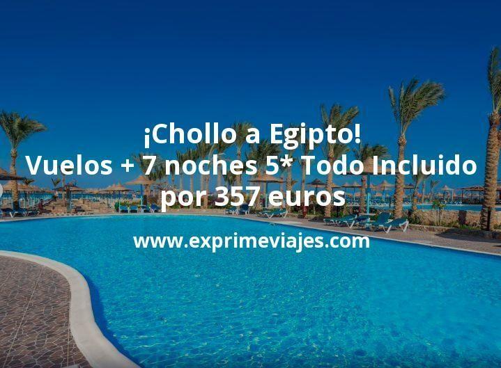 ¡Todo Incluido en Egipto a precio chollo! Vuelos + 7 noches Resort 5* por 357euros