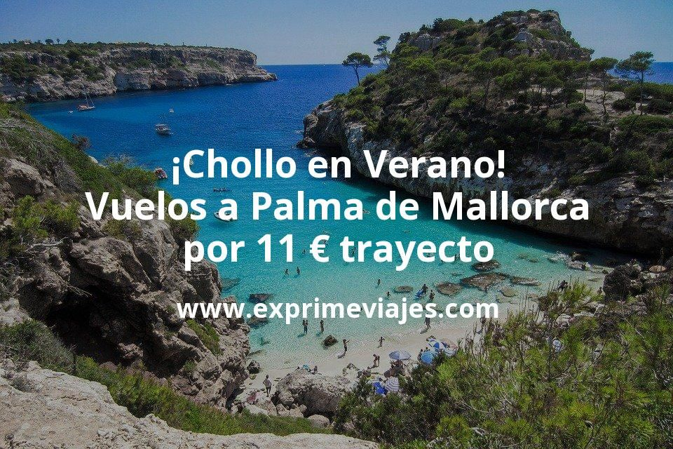 ¡Wow! Vuelos en Verano a Palma de Mallorca por 11€ trayecto
