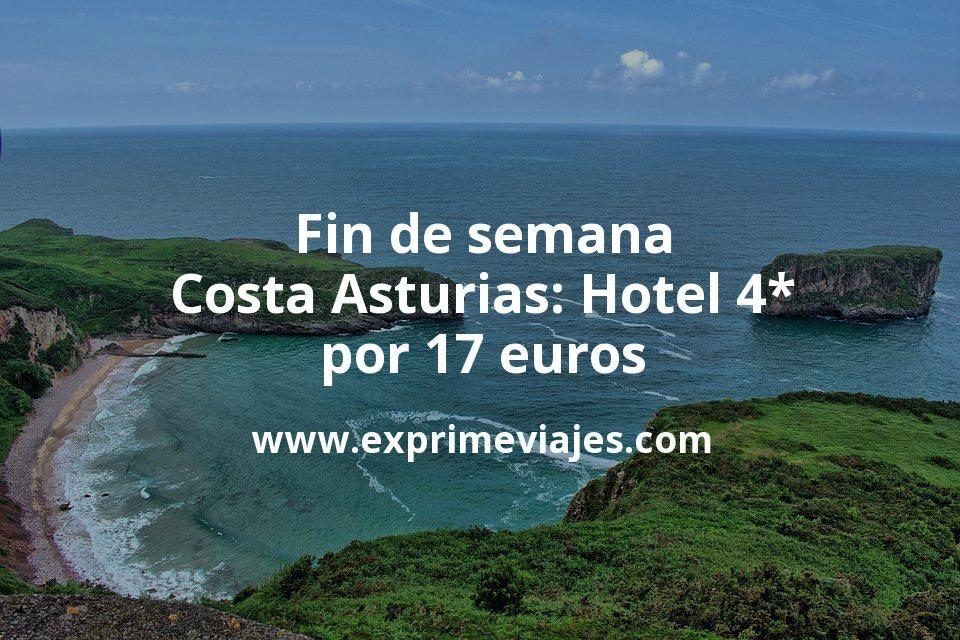 ¡Chollazo! Fin de semana Costa Asturias: Hotel 4* por 17€ p.p/noche