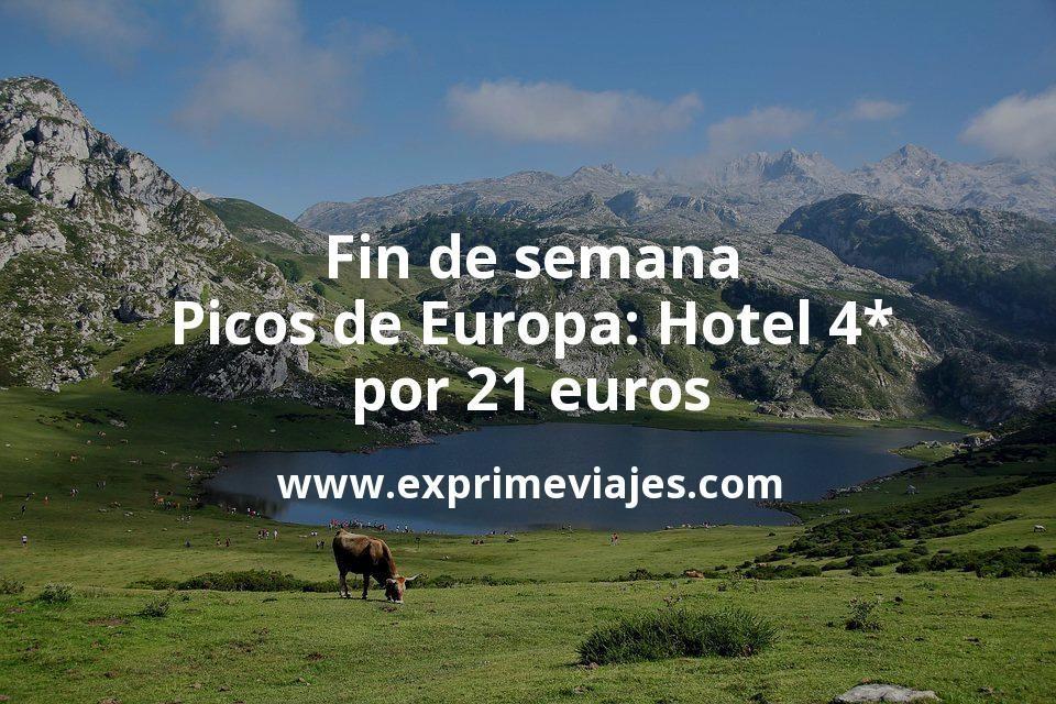 Fin de semana Picos de Europa: Hotel 4* por 21€ p.p/noche