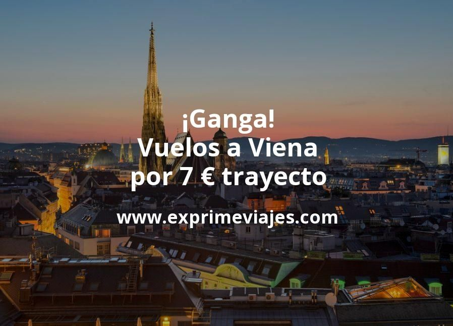 ¡Ganga! Vuelos a Viena por 7euros trayecto