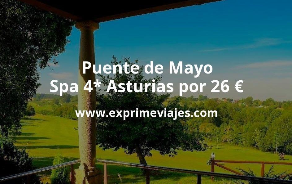 ¡Chollo! Puente de Mayo: Spa 4* Asturias por 26€ p.p/noche