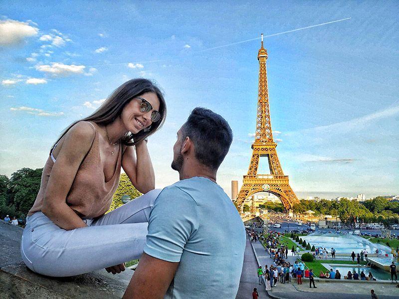 Merche y Jose en París