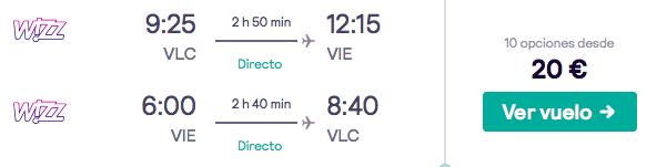¡Chollazo! Vuelos a Viena por 10 euros trayecto