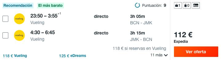¡Wow! Mikonos: Vuelos directos + 5 noches hotel 4* con desayuno por 276 euros