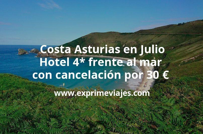 Costa Asturias en Julio: Hotel 4* frente al mar con cancelación por 33€ p.p/noche