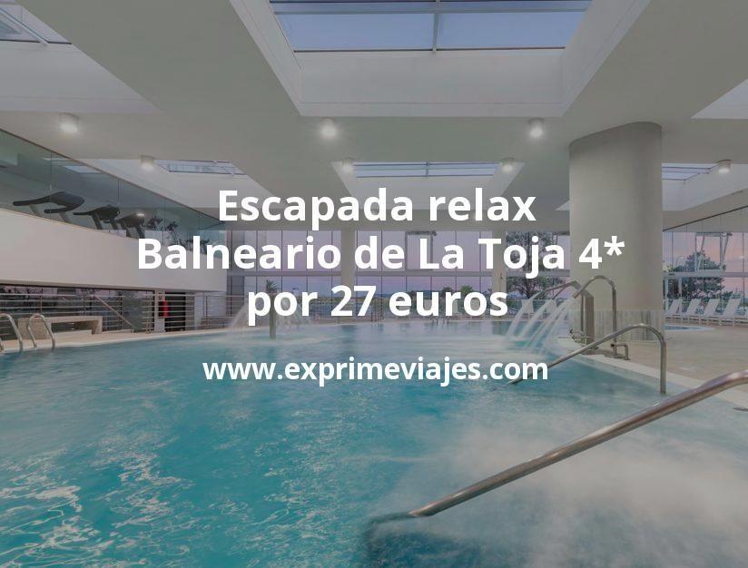 Escapada relax: Balneario de La Toja 4* por 27€ p.p/noche