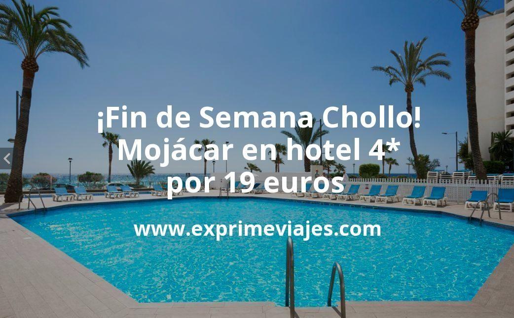 Fin de semana Primavera en Mojácar: Hotel 4* por 19€ p.p/noche
