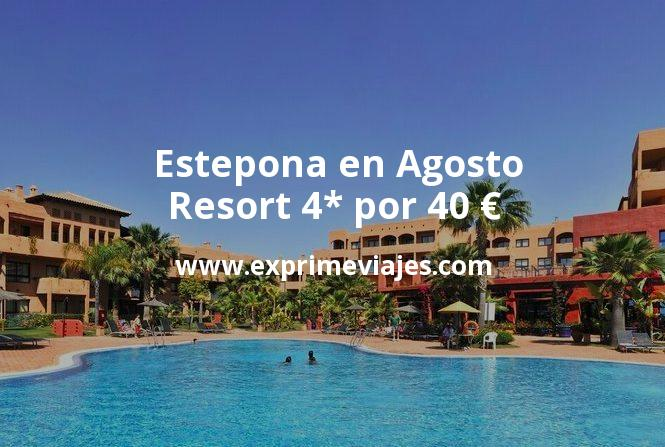 ¡Wow! Estepona en Agosto: Resort 4* por 40€ p.p/noche