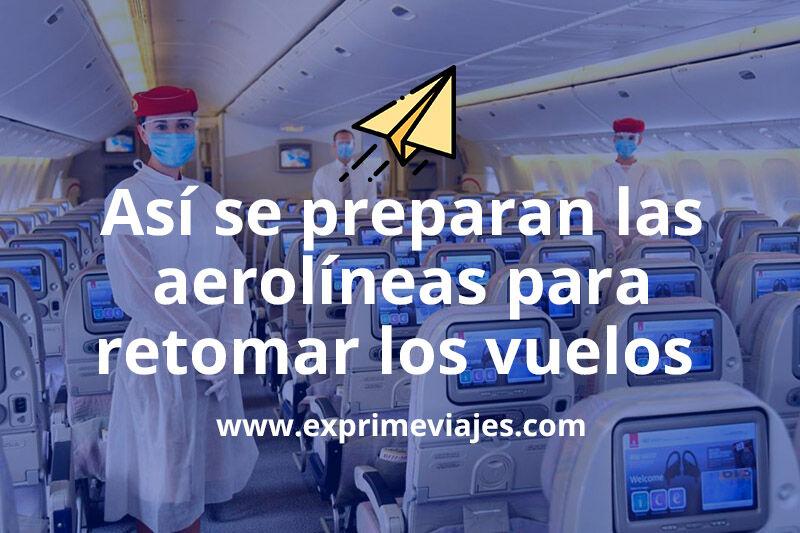 Cómo será viajar en avión tras la crisis sanitaria del COVID-19