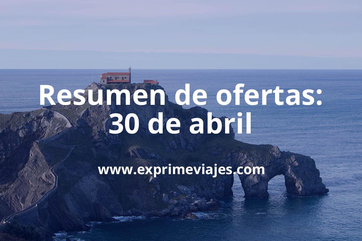 Resumen de ofertas y chollos de hoteles: 30 de abril | Exprime Viajes