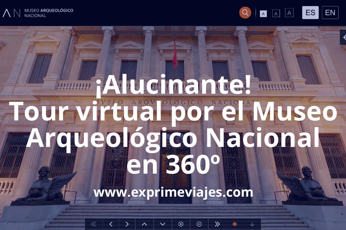 Visita virtual 360º al Museo Arqueológico Nacional