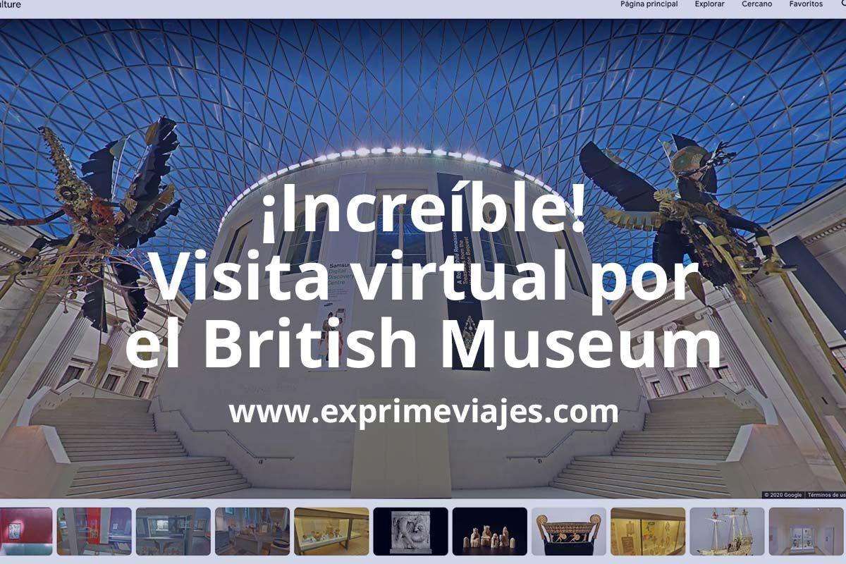 Recorre todas las salas del British Museum de Londres con este tour virtual 360º
