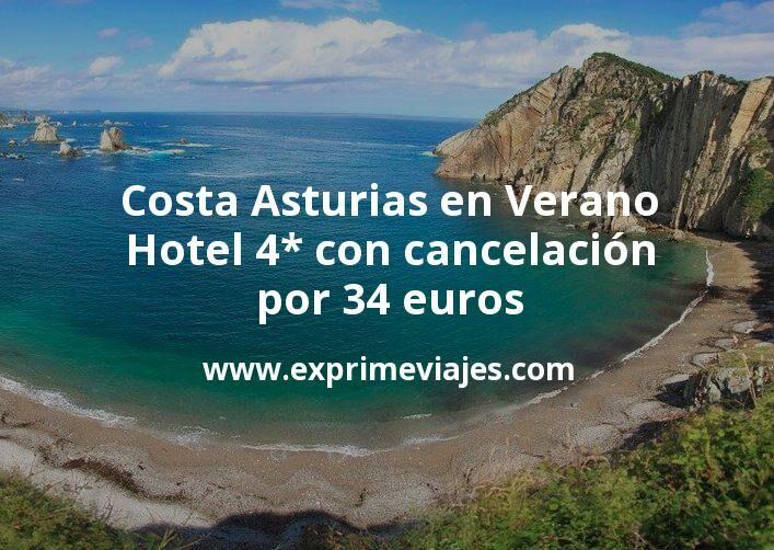 Costa Asturias en Verano: Hotel 4* con cancelación por 34€ p.p/noche