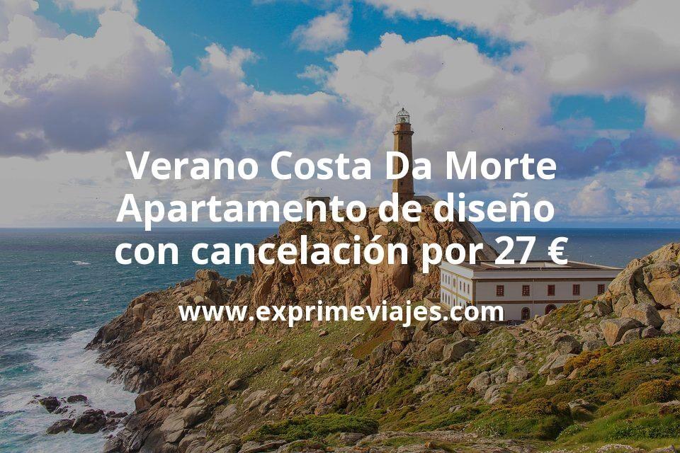 Verano Costa Da Morte: Apartamento de diseño con cancelación por 27€ p.p/noche