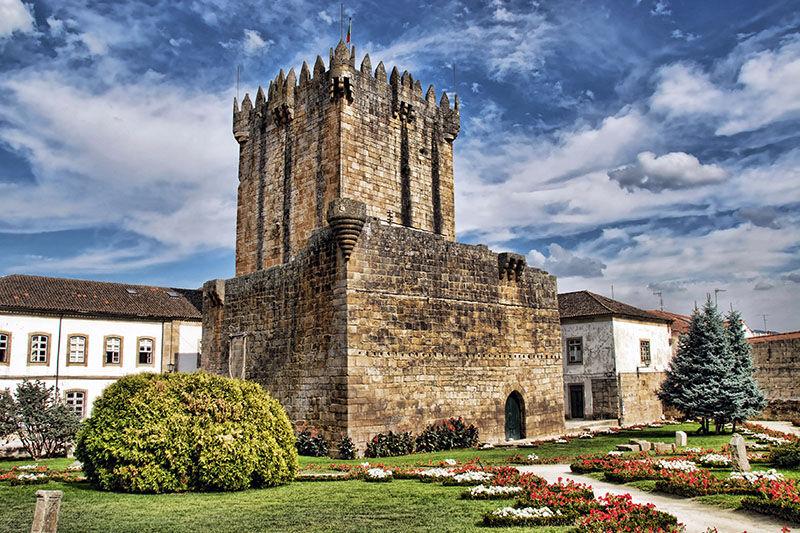 castelo de chaves ruta nacional 2 portugal