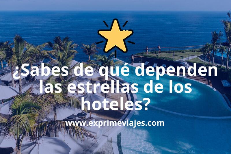 Cómo se otorgan las estrellas de los hoteles