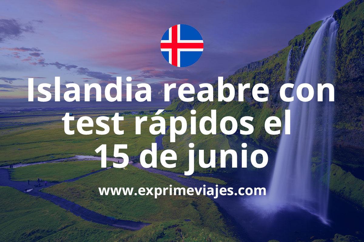 Islandia quiere que viajemos a su país: Test rápidos y una app de seguridad