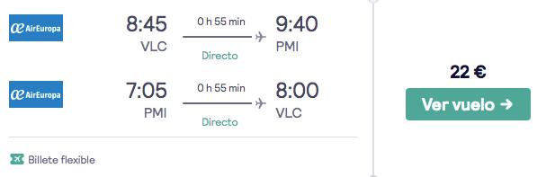 vuelos baratos a palma de mallorca en verano