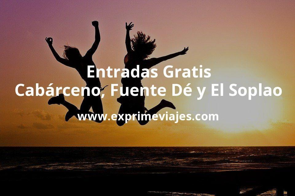 Consigue entradas gratis para Cabárceno, Fuente Dé y El Soplao