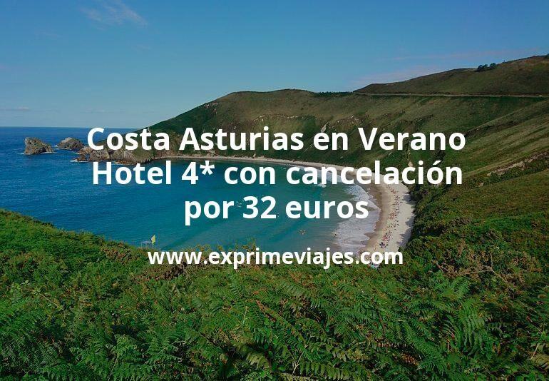 Costa Asturias en Verano: Hotel 4* con cancelación por 32€ p.p/noche