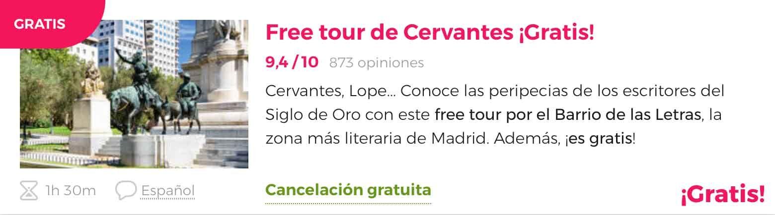 Freetour Cervantes