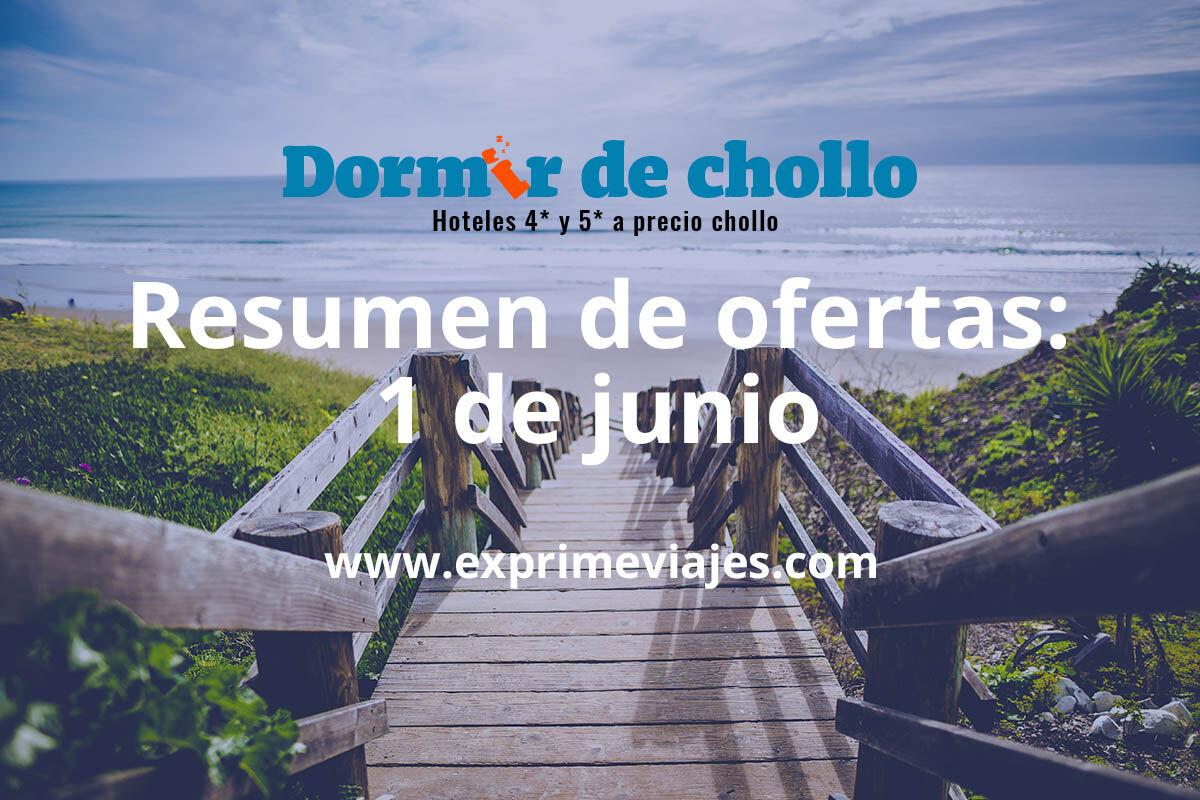 Resumen de ofertas publicadas en Dormir de Chollo del 1 de junio