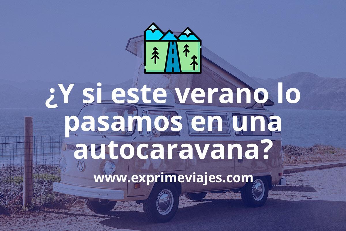 4 webs para alquilar una autocaravana o camper este verano en España