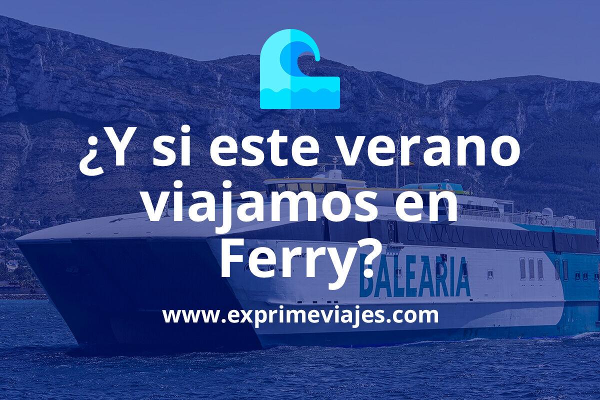 Viajar en ferry: Descubre Canarias y Baleares con tu propio coche