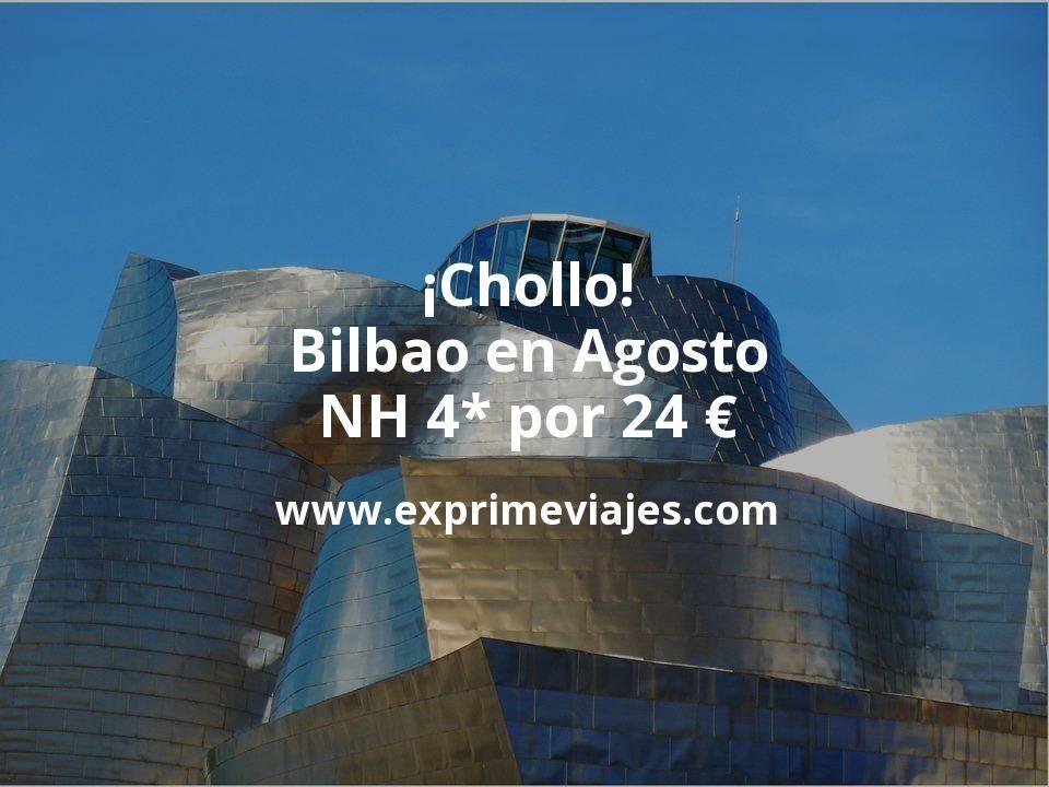 ¡Chollo! Bilbao en Agosto: NH 4* por 24€ p.p/noche
