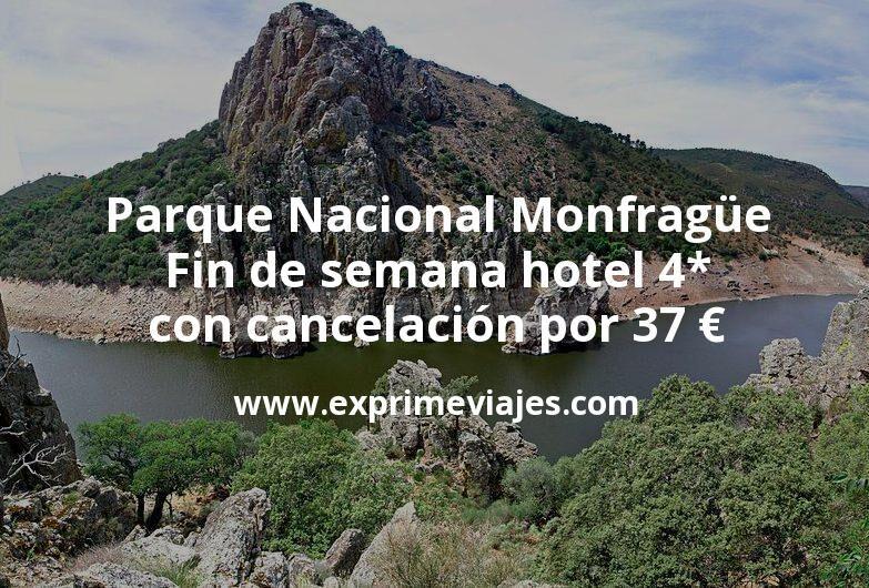 Parque Nacional Monfragüe en fin de semana: Hotel 4* con cancelación por 37€ p.p/noche