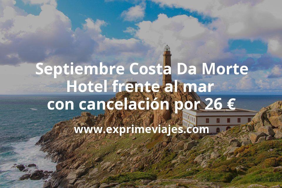 Septiembre Costa Da Morte: Hotel frente al mar con cancelación por 26€ p.p/noche