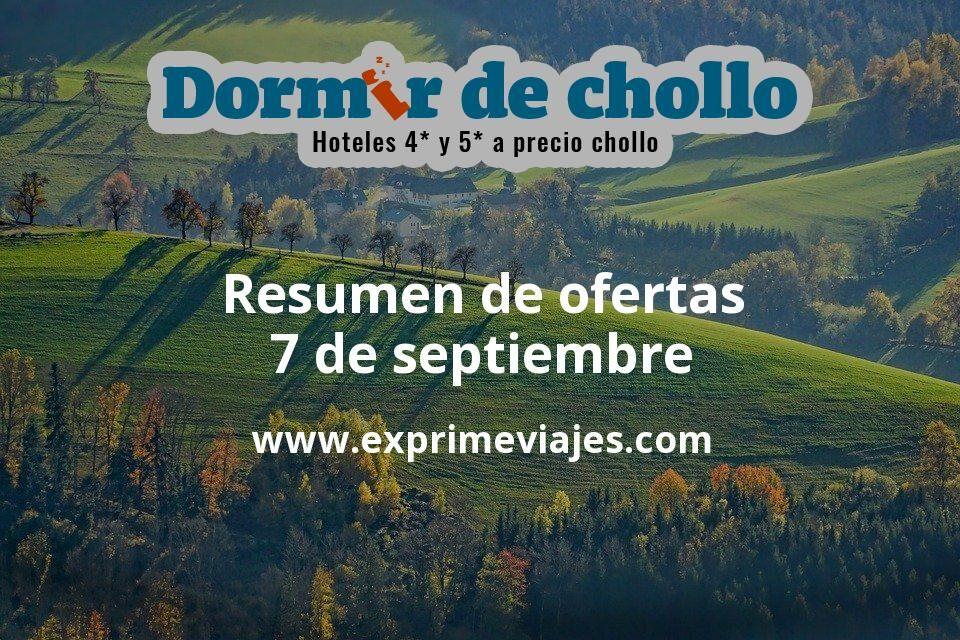 Resumen de ofertas de Dormir de Chollo – 7 de septiembre