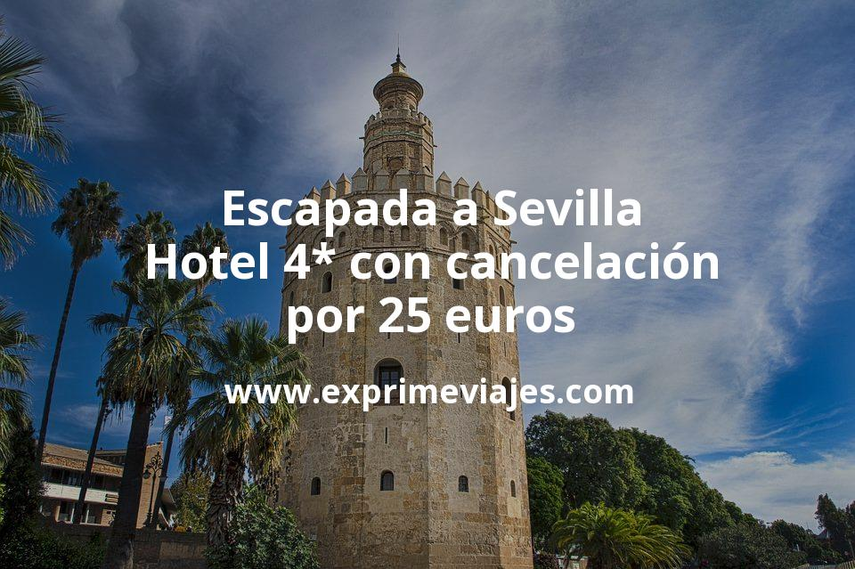 Escapada a Sevilla: Hotel 4* con cancelación por 25€ p.p/noche