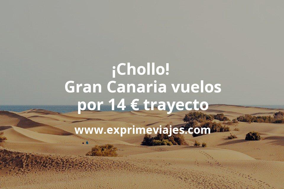¡Chollo! Gran Canaria: Vuelos directos por 14euros trayecto