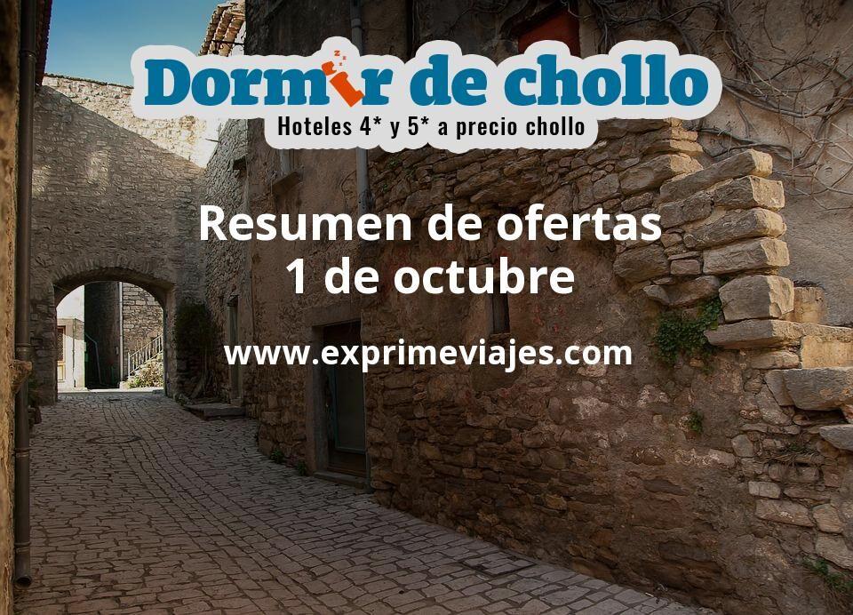 Resumen de ofertas de Dormir de Chollo – 1 de octubre