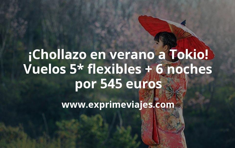 ¡Chollazo! Tokio en verano: vuelos flexibles con Etihad o Qatar + 6 noches por 545euros