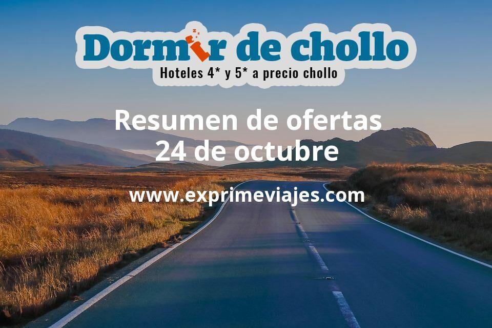 Resumen de ofertas de Dormir de Chollo – 24 de octubre