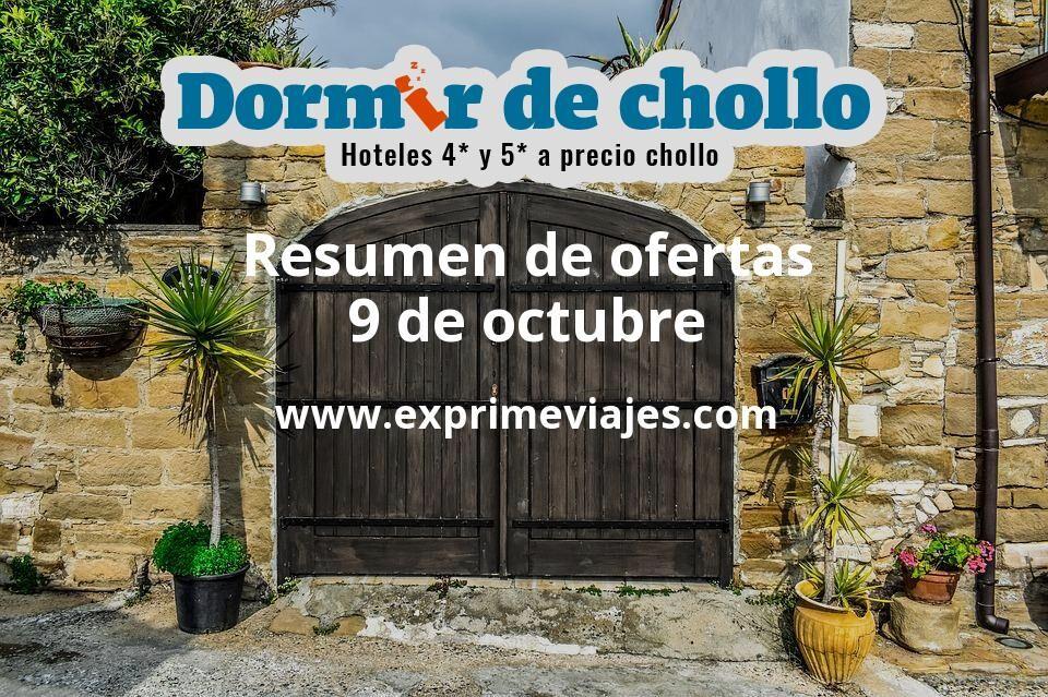 Resumen de ofertas de Dormir de Chollo – 9 de octubre