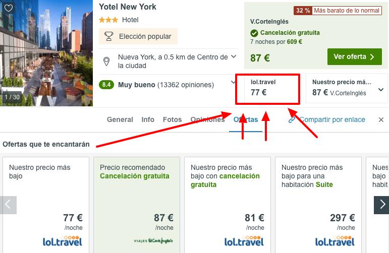 hotel times square nueva york barato