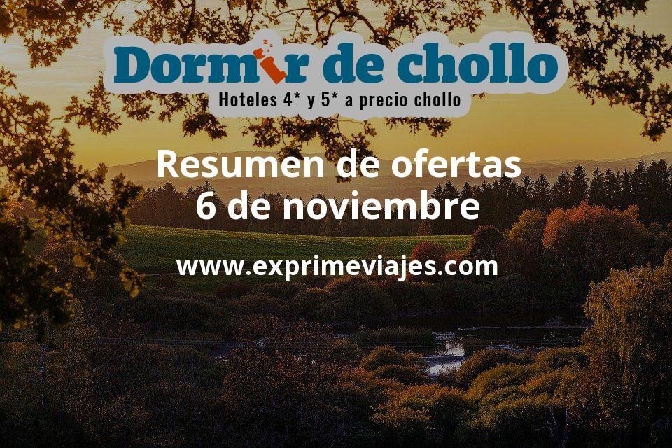 Resumen de ofertas de Dormir de Chollo – 6 de noviembre
