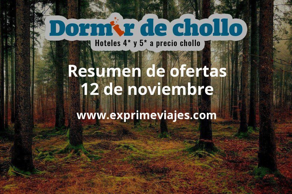 Resumen de ofertas de Dormir de Chollo – 12 de noviembre