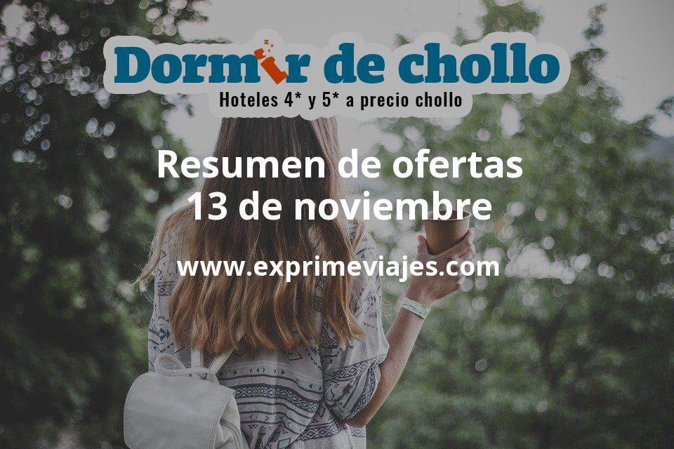 Resumen de ofertas de Dormir de Chollo – 13 de noviembre