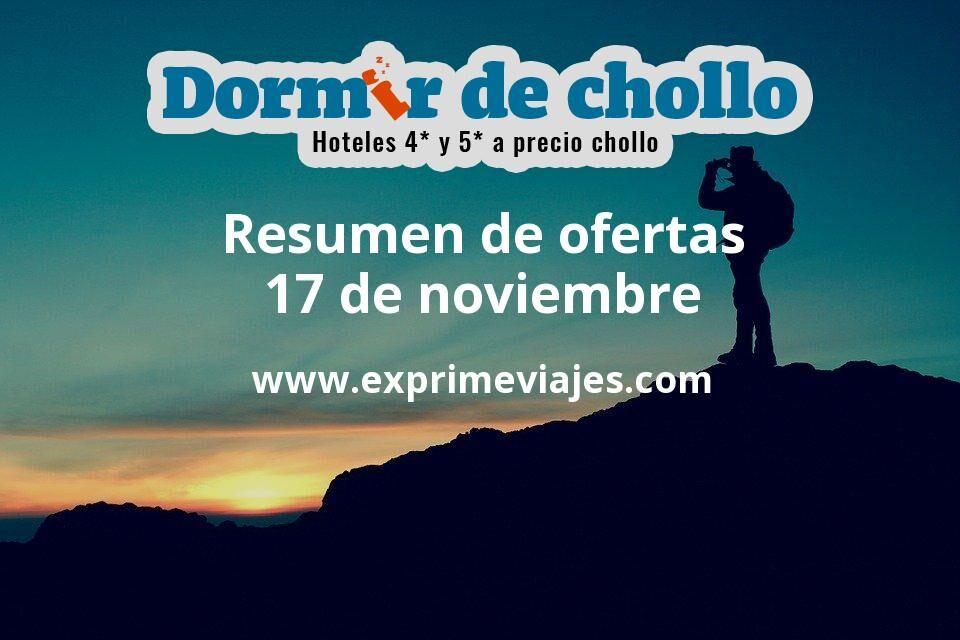 Resumen de ofertas de Dormir de Chollo – 17 de noviembre