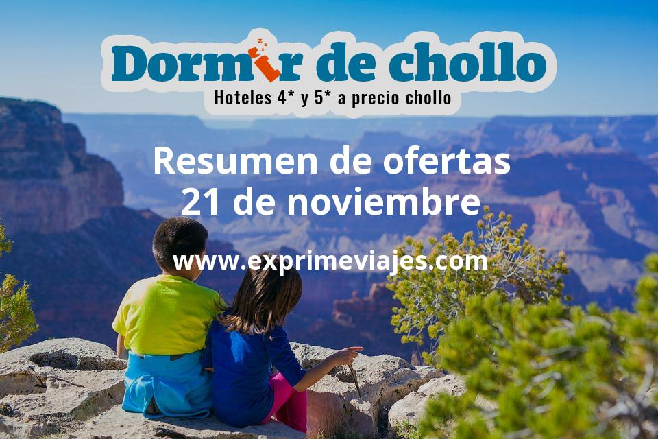 Resumen de ofertas de Dormir de Chollo – 21 de noviembre