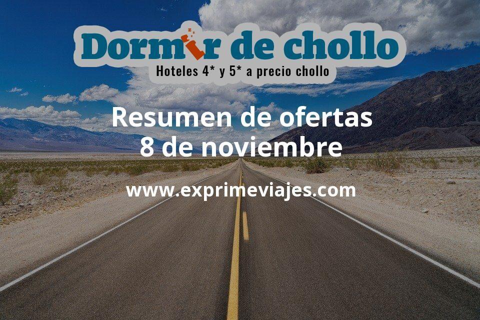 Resumen de ofertas de Dormir de Chollo – 8 de noviembre