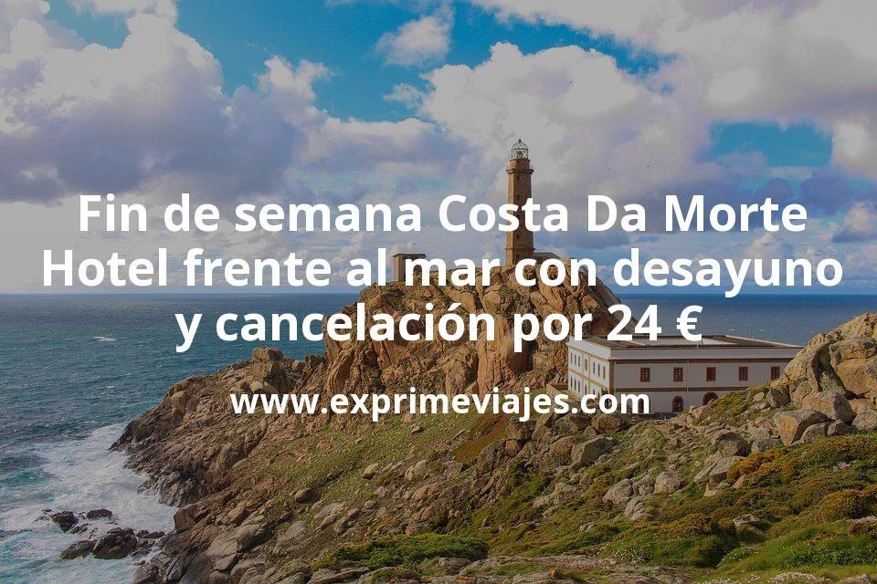 Fin de semana Costa Da Morte: Hotel frente al mar con desayuno y cancelación por 24€ p.p/noche