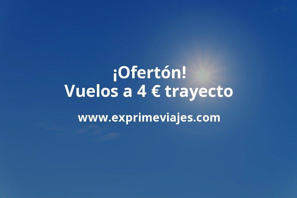 ¡Ofertón a Baleares! Vuelos a 4euros trayecto a Menorca y Mallorca