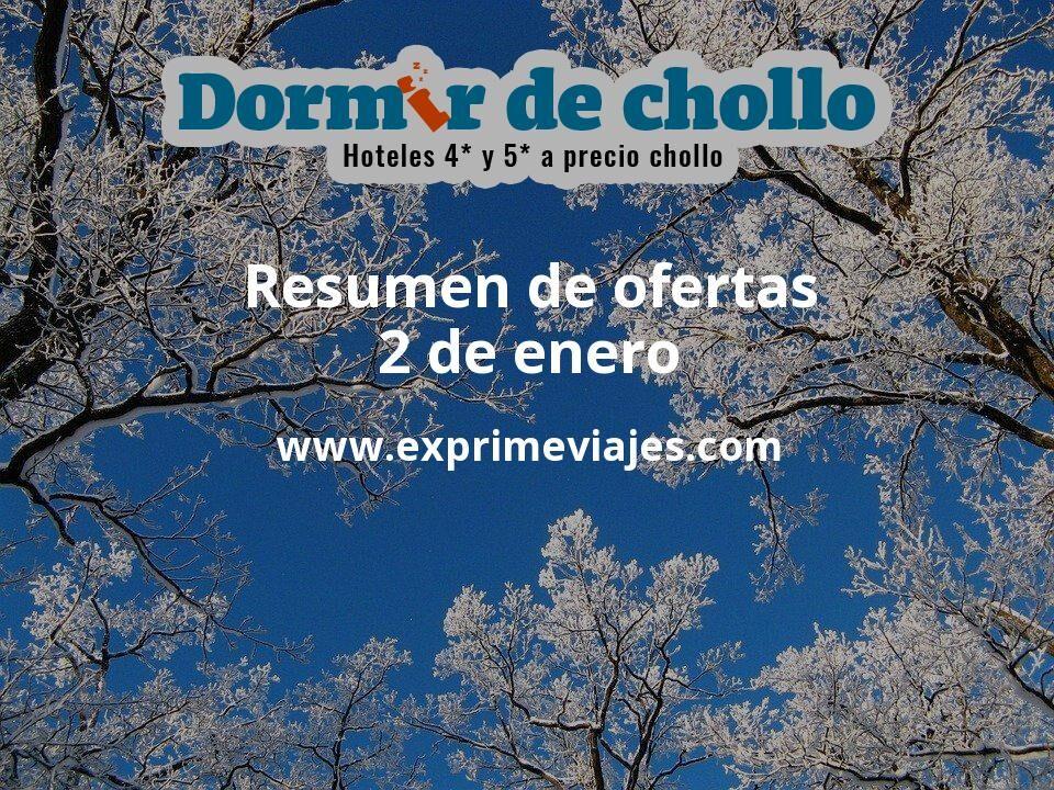 Resumen de ofertas de Dormir de Chollo – 2 de enero