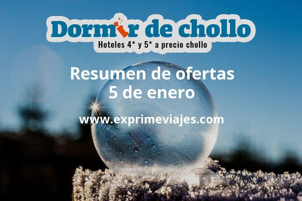 Resumen de ofertas de Dormir de Chollo – 5 de enero